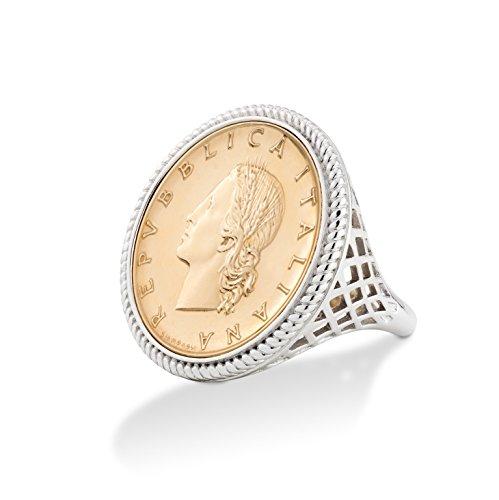 Italian Coin Ring