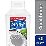 Suave Essentials Conditioner, Tropical Coconut, 30 oz