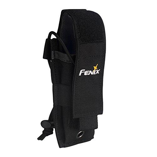 Fenix Flashlight Holster Pouch Holder Carry Case ALP-MT for Duty Belt TK09 TK15 TK15C PD32 PD35 TK09 LD12 LD22 SD10 E20 E25 E35 E35-UE (Black)