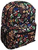 Super Mario All Over Print Multi 16' Full Size Backpack