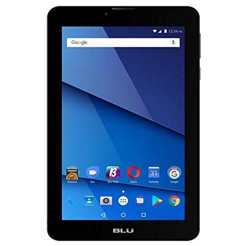 BLU P290L Black Touchbook M7 PRO 7' Unlocked GSM 3G + Wi-Fi Android 7.0 (Nougat) Quad-Core Tablet PC - Black