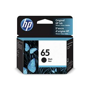 HP 65 | Ink Cartridge | Works with HP Deskjet 2600 Series, 3700 Series, HP ENVY 5000 Series, HP AMP 100, 120, 125, 130…