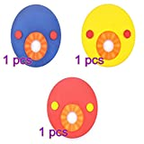 Keebgyy EVA Foam Swim Discs, 3Pcs Foam Swim Float Ring Swimming Armbands, Baby Floating Sleeves Buoyancy Circles Rings