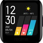 Realme Fashion Watch 1.4″ Large HD Color Display, Full Touch Screen, SpO2, Continuous Heart Rate Monitor, Black, Free Size (RMA161)