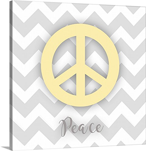 Charming Eclectic and Hip Peace Sign Wall Decor | Home Wall Art Decor