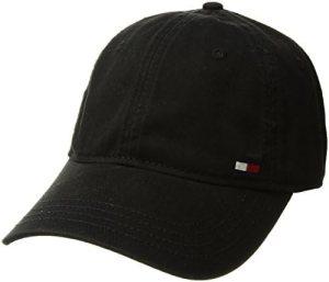 Tommy Hilfiger Men's Dad Hat Billy Corner Flag Cap