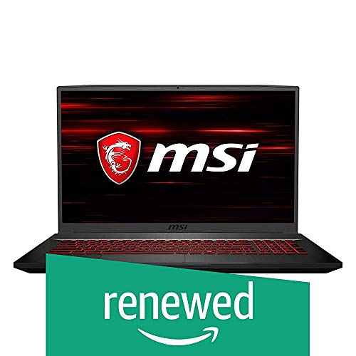 (Renewed) MSI GF75 Thin 8RC-077IN 2019 17.3-inch Gaming Laptop (8th Gen Core i7-8750H/8GB/1 TB/Windows 10 Home/4GB Graphics/2.2 Kg), Black 189