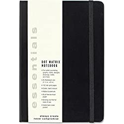 Essentials Dot Matrix Notebook, A5 size (Bullet Journal)