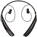 LG Tone Pro HBS-750 Bluetooth Stereo Headphones with Microphone - Black (Renewed)