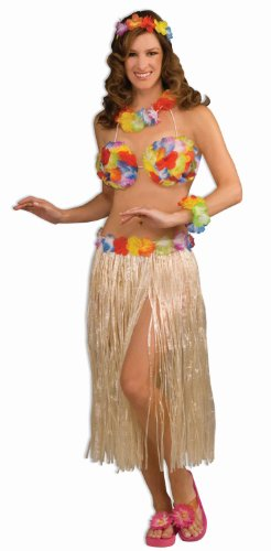 Hawaiian Hula Girl Dancer 3-Piece Kit