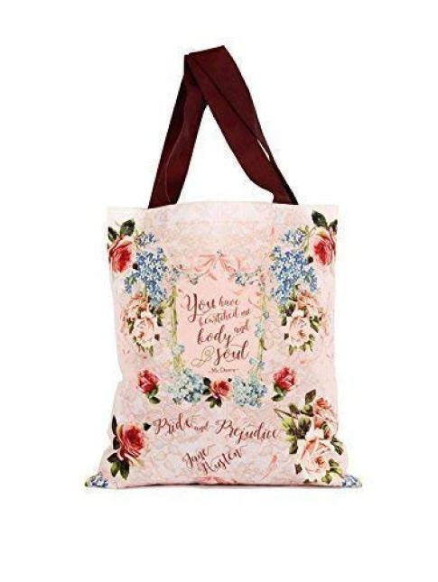 Pride and Prejudice Literary Tote Bag