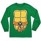 Teenage Mutant Ninja Turtles Costume Adult Long Sleeved T-Shirt - XX-Large (Michelangelo)