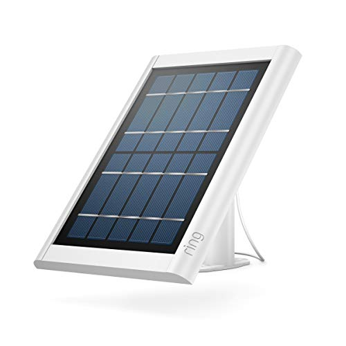 Ring Super Solar Panel - Compatible with Ring Spotlight Cam Battery and Stick Up Cam Battery - White