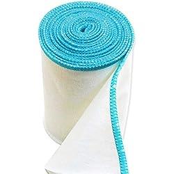 Edenswear Zinc-Infused Wraps for Eczema - Wet Wrap Therapy (Diameter: 8.75 cm)