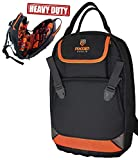 Rugged Tools Tradesman Tool Backpack - 28 Pocket Heavy Duty Jobsite Tool Bag Perfect Storage &...