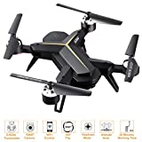 WiFi FPV RC Drone with 1080P HD Camera for Beginners & Kids, HOCOMO-WiFi FPV 2.4Ghz 6-Axis Gyro RC Quadcopter with One Key Take Off & Landing,Headless Mode,Altitude Hold, 15 Mins Long Flight Time