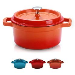 Sulives Enamel Cast Iron Dutch Oven