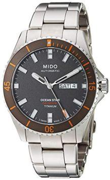 Mido Ocean Star Captain V M026.430.44.061.00 Grey / Silver Titanium Analog Automatic Men's Watch