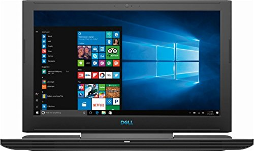 Dell 7855 G7 15 Flagship Gaming laptop, 15.6' FHD IPS Anti-Glare Screen, Intel 8th Gen six-core i7-8750h, 512GB SSD, 16GB DDR4, GeForce GTX 1060 With Max-Q, HDMI, Wireless-AC, USB C, MaxxAudio, Win 10