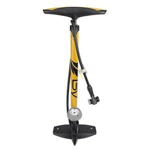 BV Bicycle Ergonomic Bike Floor Pump with Gauge & Smart Valve Head, 160 psi, Automatically Reversible Presta and… 41oLo1kgoeL bestsellers Bestsellers 41oLo1kgoeL