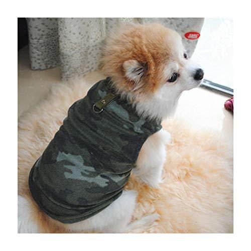 Petea Pet Dog Clothes Camouflage Dog Vest Winter Villi Coat Warm Pet Puppy Apparel for Dogs and Cats 1