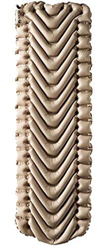 Klymit 9005496  Static V Lightweight Sleeping Pad, Coyote-Sand