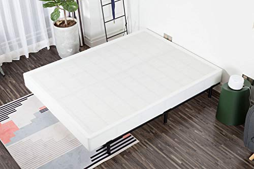 NOAH MEGATRON Easy Assembly Box Spring, Heavy Duty Steel Mattress Foundation Base, 7'' H, King