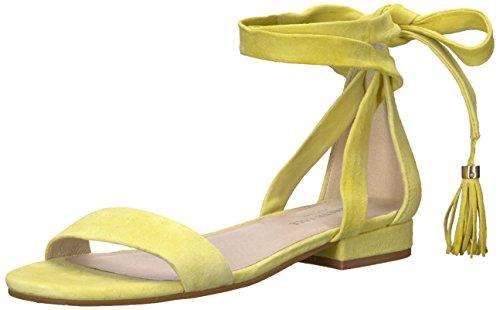 41oQoXjUPgL Ankle Wrap Straps Padded Footbed Tassel Detail