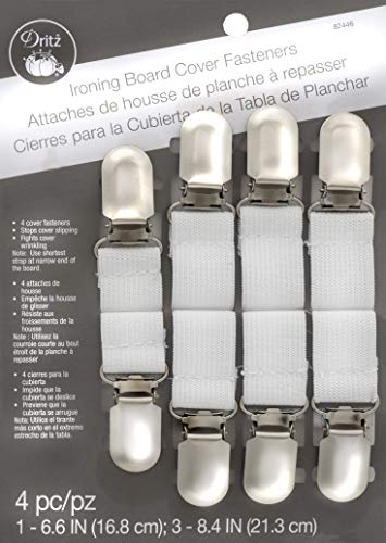 Dritz Clothing Care 82446 Ironing Board Cover Fasteners (4-Count)