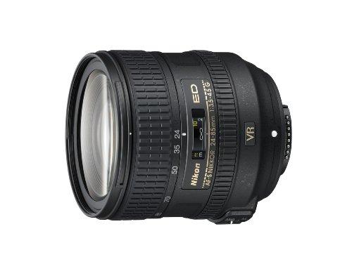 Nikon AF-S FX NIKKOR 24-85mm f/3.5-4.5G ED Vibration Reduction Zoom Lens with Auto Focus for Nikon DSLR Cameras