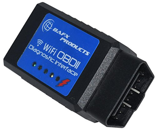 BAFX Products 8523900508 for for iOS Devices OBD Reader for Check Engine Lights & Other Diagnostics