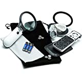3 Loupe Bundle: 3X Magnifying Glass with Light & 45x Coin Loupe + Lighted Slideout Pocket Geologist Loupe with 10x 20x 30x Lenses + Lighted 40x Jewelers Loupe + Batteries, Bonus & Guarantee