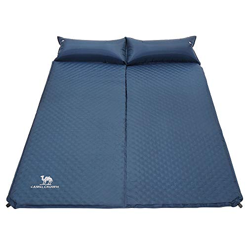 CAMEL-CROWN-Self-Inflating-Double-Sleeping-Pad-with-Pillows-Sleep-Mat-for-2-Person-Outdoor-Camping-Hiking-Backpacking