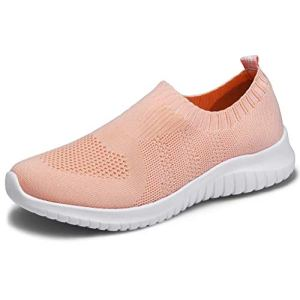 konhill Women's Walking Tennis Shoes - Lightweight Athletic Casual Gym Slip on Sneakers 26 Fashion Online Shop gifts for her gifts for him womens full figure