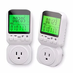 Nashone Timer Outlet, Constant temperature function, Digital Clock LCD Display ON/OFF Control for Electrical Appliances Energy Saving
