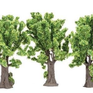 Hornby Skale Scenics Classic Deciduous Maple Trees X 3 Trees 4″ for HO Model Layouts R7203 41oeG 2BbwQGL