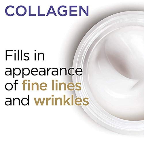 Collagen Face Moisturizer by L'Oreal Paris Skin Care I Day and Night Cream I Anti-Aging Face Cream to Smooth Wrinkles I Non-Greasy I 3.4 Ounce (Packaging May Vary) 9