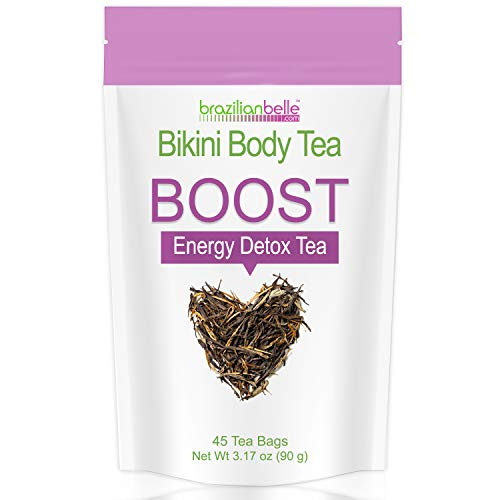 Bikini Body Boost - Best Daytime Energy & Detox Tea on Amazon - Boosts Metabolism, Cleanses, and Shrinks Love Handles (1 Box)