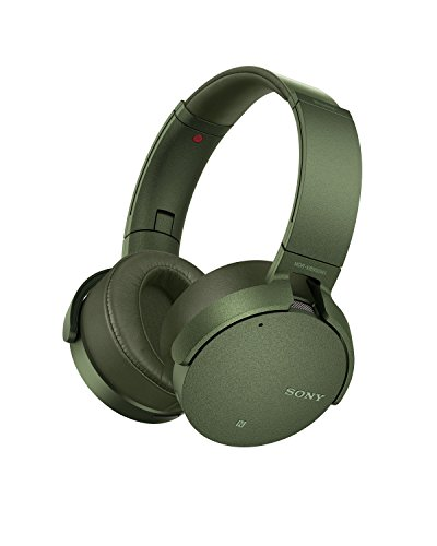 Sony XB950N1 Extra Bass Wireless Noise Canceling Headphones, Green