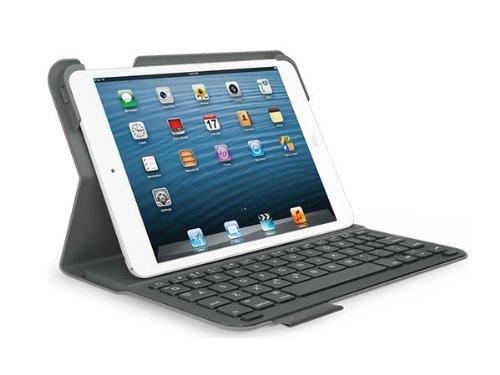 Logitech Ultrathin Keyboard Folio for iPad mini (Not for iPad Mini 4 -Will NOT Fit) - Carbon Black