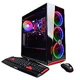 CyberpowerPC Gamer Xtreme VR GXiVR8060A7 Gaming PC (Intel i5-9400F 2.9GHz 8GB DDR4, NVIDIA GeForce GTX 1660 6GB, 120GB SSD, 1TB HDD, 802.11AC WiFi & Win 10 Home) Black
