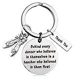 MAOFAED Dance Teacher Gift Cheer Coach Gift Dance Team Gift Dance Teacher Appreciation Gift (Dance Teacher)