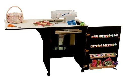 Arrow Cabinet 98503 Sewnatra Sewing Cabinet, Black