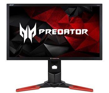 Acer Predator XB241H bmipr 24-inch Full HD 1920x1080 NVIDIA G-Sync Display, 144Hz, 2 x 2w speakers, HDMI & DP