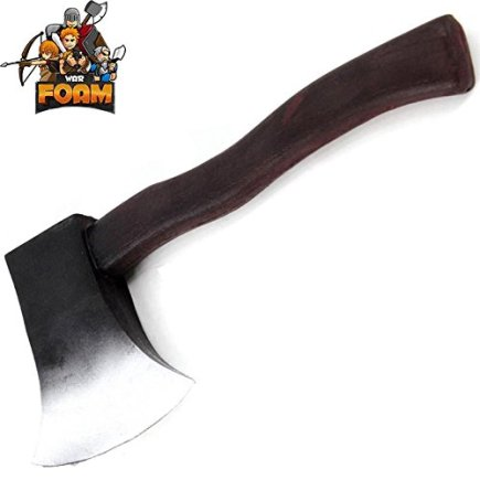 WarFoam-12-Foam-Throwing-Axe-Toy-Tomahawk-LARP-Cosplay-Costume-Weapon