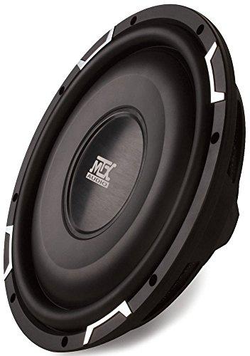 5. MTX Audio FPR12 – 04 Shallow Mount Subwoofer