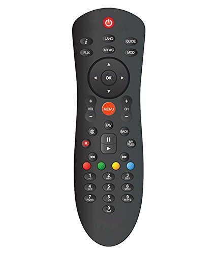 FOXMICRO DISH TV Remote Suitable for All HD SET-TOP BOXES-FM 73