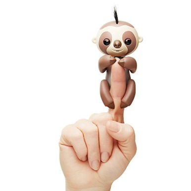 Fingerlings-Baby-Sloth-Kingsley-Brown-Interactive-Baby-Pet-by-WowWee