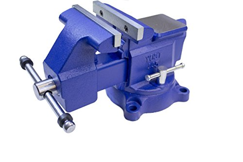Yost Vises 445 4.5' Heavy-Duty Utility Combination Pipe and Bench Vise