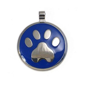 LuckyPet Pet ID Tag: Paw Print Jewelry Tag